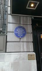 Photo of Harry Gordon Selfridge blue plaque