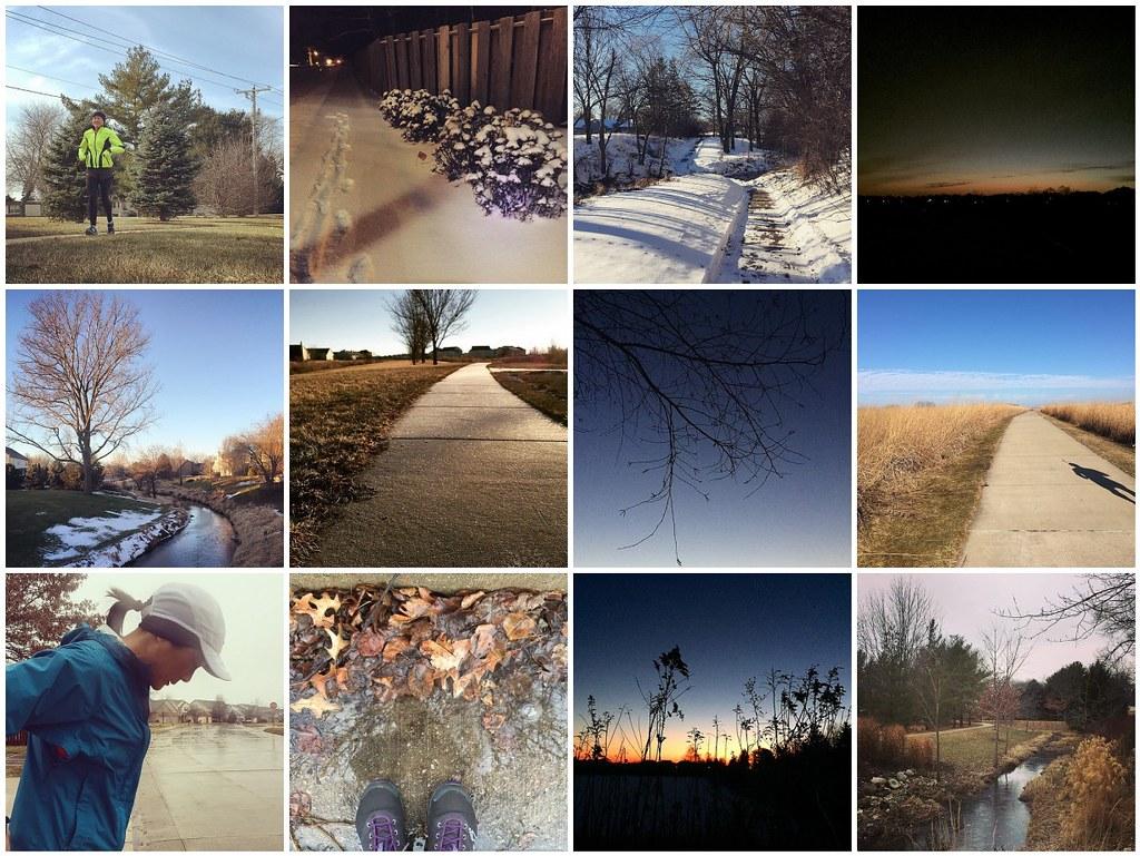 Along My Run - January 2015