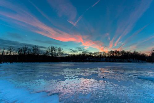 sunset occoquanriver