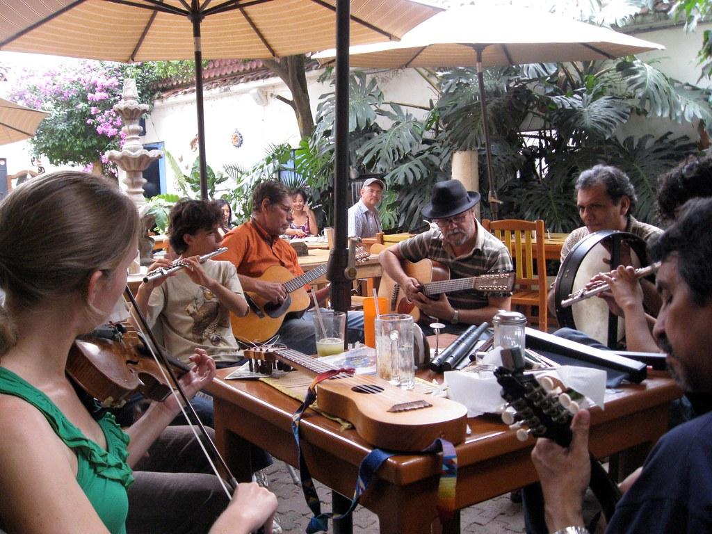 Irish music in Mexico