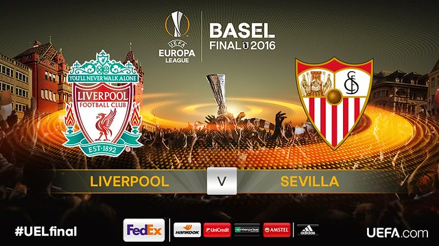 La Final de la Europa League entre el Liverpool y el Sevilla