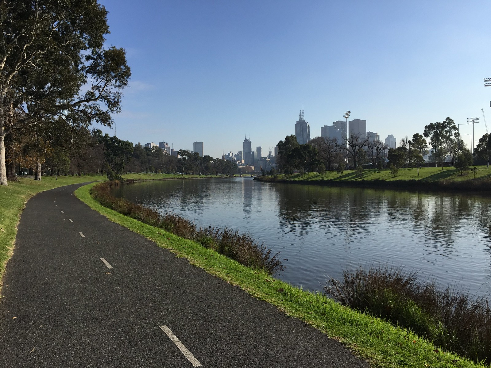 Capital City Trail by the Yarra 2