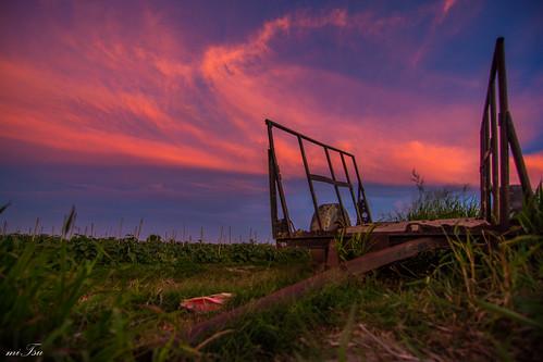 light sunset sky colour nature clouds landscape evening nikon dusk tokina caribbean trailer agriculture trinidadandtobago 1116mm d5200