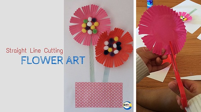 Flower Art for Kindergarten