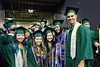 Shidler College of Business graduates at the University of Hawaii at Manoa spring commencement ceremony on May 14, 2016.