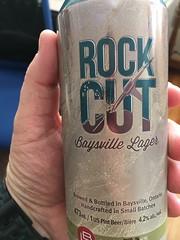 Beersperiment: Rock Cut Baysville Lager (Baysville, Ont). @halyma: 4* me:3*