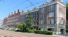 Amsterdam Oost Mauritskade houses