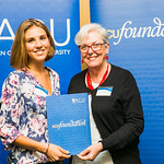 ACUscholarship2016-165 Elena Just and and Prof. Karen Flowers