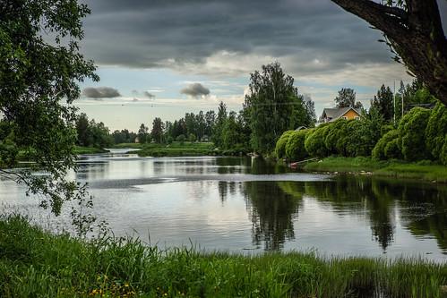reflection suomi finland river isokyrö heijastus joki