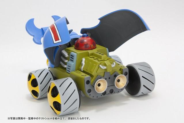 懷念動畫《救難小英雄》藍鯨號 1/100 組裝模型 タイムボカン