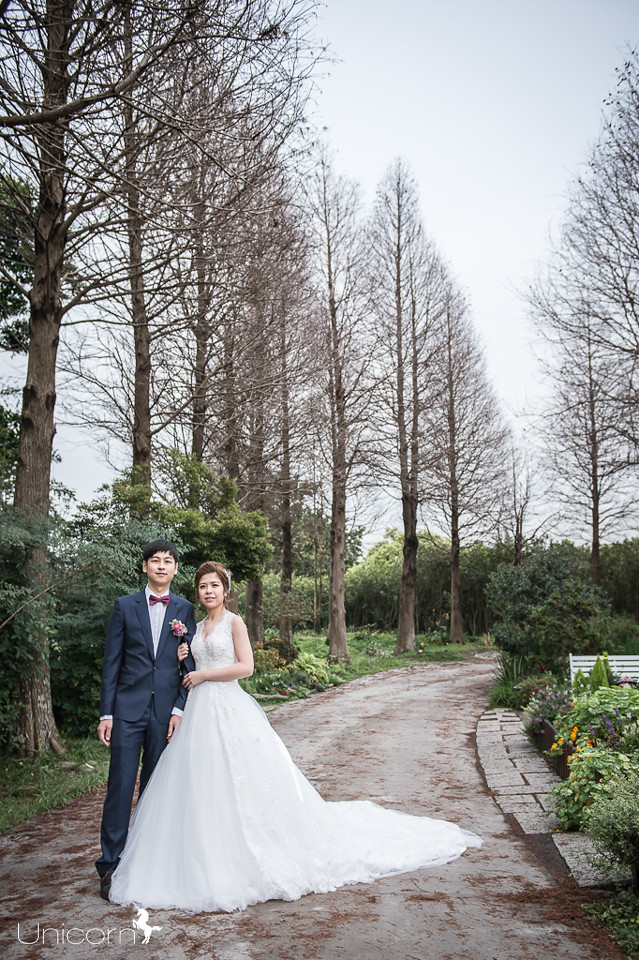 《婚攝一条》志宏 & 旻郡 / 彰化菁芳園