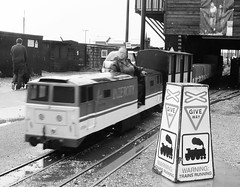Trains running