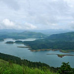 Enchanting Kerala - Idukki Reservoir from Calvary Mount