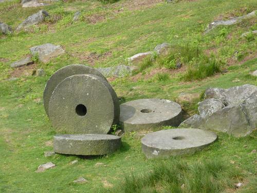 Abandoned Millstones near Cowper Stone