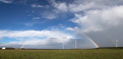 Sligo Coast Rainbow pano