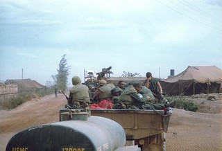 3d Battalion, 4th Marines, Departure from Camp J.J. Carroll, June 1967