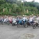 Team on bikes.