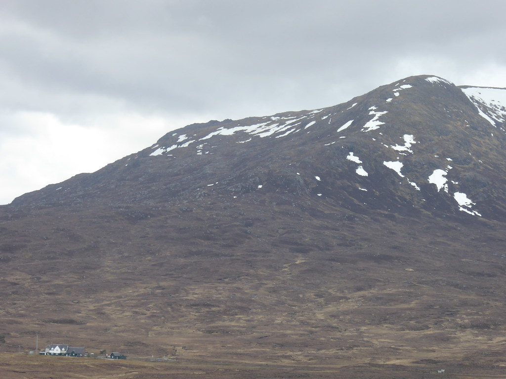 Corrour station and Leum Uilleim