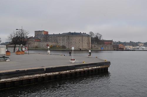 2011.11.12.297 - Stockholms skärgård - VAXHOLM - Strömma Kanalbolaget (Lilla Skärgårdsturen) - Vaxholms fästning