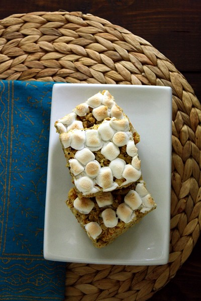 8720975625 fb28924364 z Curried Coconut and Pepita Rice Krispie Treats