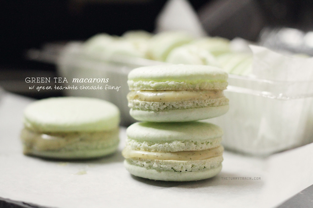Into the macaron bandwagon, and I don't want to get out