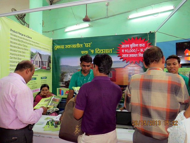 Janhavi Colour Profile Sheet Ind - Visit Sakal Agrowon Green Home Expo, 25th and 26th May, 2013