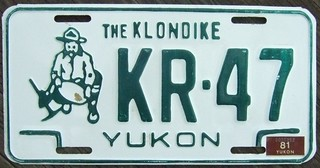 YUKON 1981 ---UNDATED BASE PLATE