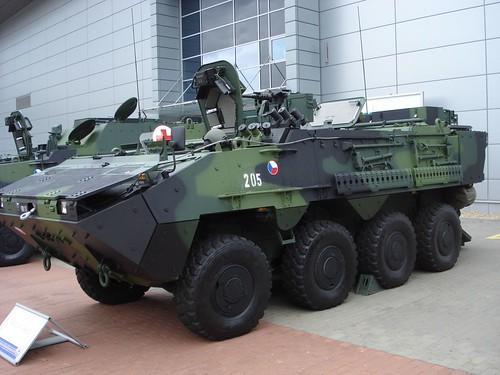 pandur infantry