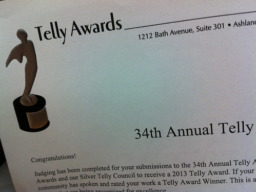 34th Telly Awards!