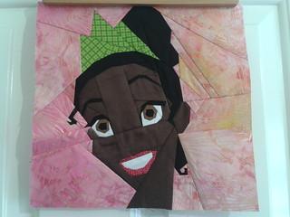 Paper Pieced Tiana