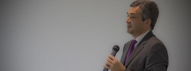 Presentación de General Electric en el acto organizado por el BAC de MONDRAGON
