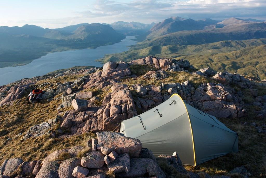 Wild camped above Loch Etive
