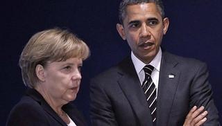 奥巴马见默克尔,重点解释美国情报活动