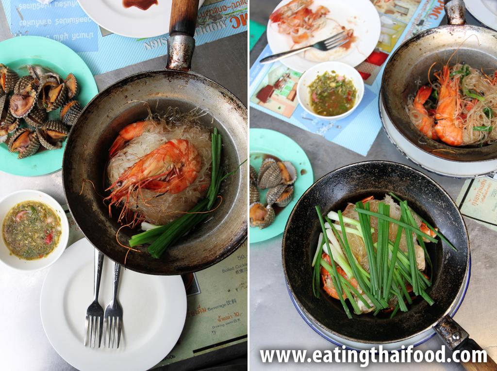 Our irresistible meal at Somsak Pu Ob (สมศักดิ์ ปูอบ)