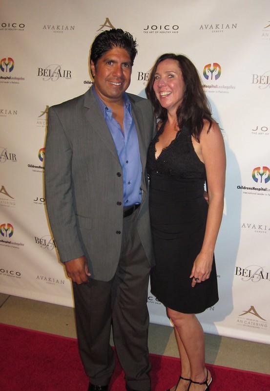 Gordon Vasquez, Cindy Davis, Bel Air Film Festival 2010