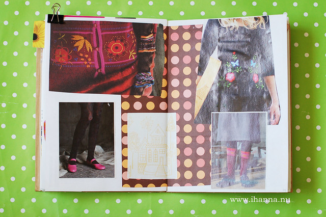 Glue Book: Somber, Black, Warm