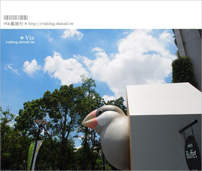 【台中草悟道商圈】來台中找舉牌小人們同樂~綠圈圈夏日藝術祭!