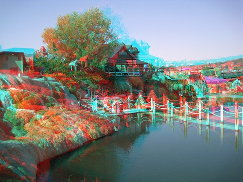 morning usa reflection water reflections 3d rocks unitedstates anaglyph steam resort formation american springs co waters sulfur depth redblue 3dglasses pagosa americansouthwest 3dimensional mirrorimages 3dimages anaglyph3d springsresort pagosaspringssunrise sulfurformation 3dpicturescolorado