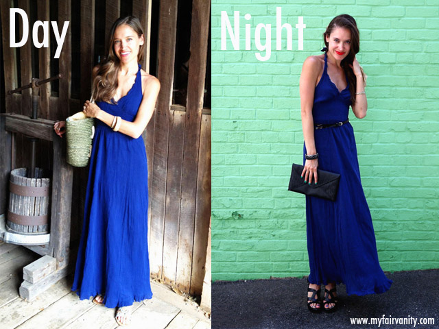 maxi dress,day to night, rachel mlinarchik, ecofashion, style blog