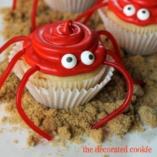 crab cupcakes