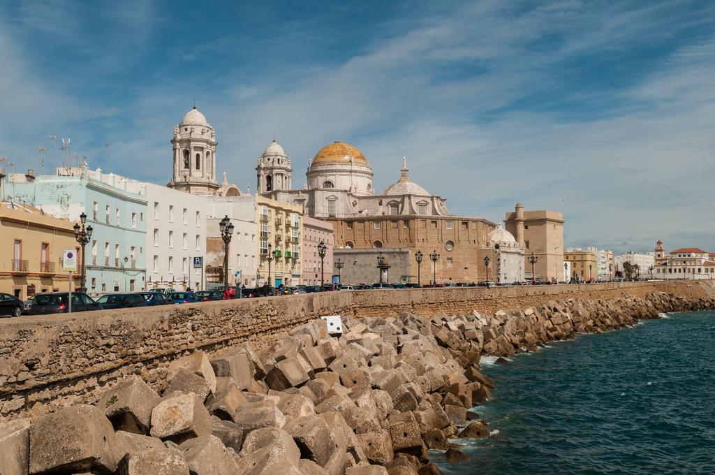 Vista de Cádiz. Autor, Michal Osmenda