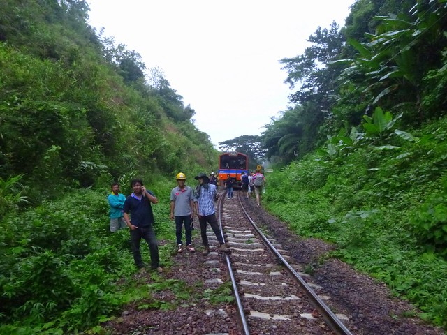 My Train Derailed in the Northern Thai Jungle