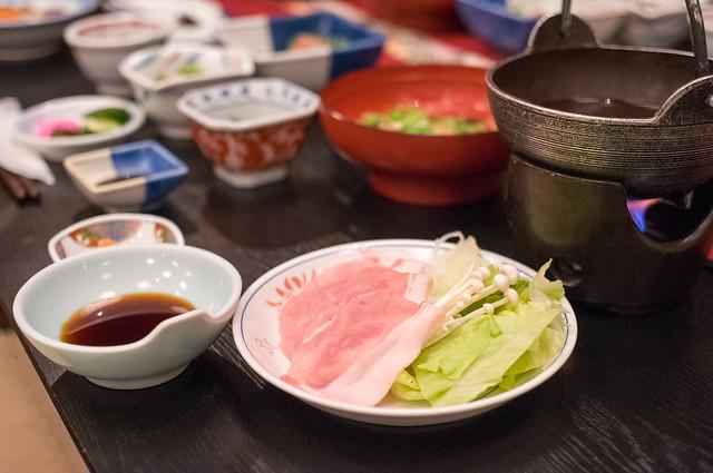村上屋旅館 夕食