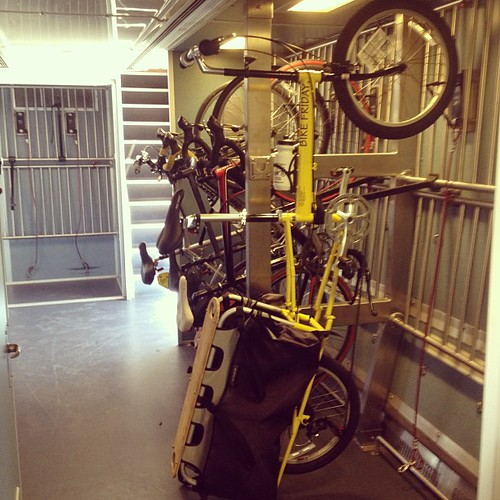 Bike Friday Haul-a-day on Amtrak! Capitol Corridor to Davis