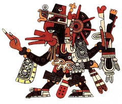 Tezcatzontecatl-aztec