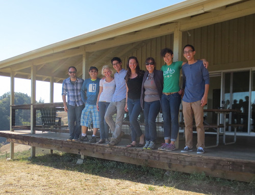 Cal Academy youth programs team on retreat