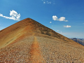 Redcloud Peak (14,034 ft)