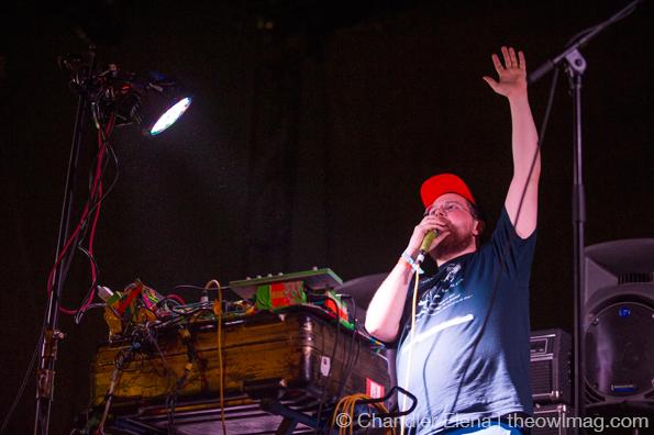 Dan Deacon @ FYF Fest, LA 8/24/13