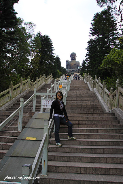 tian tan big buddha 240 steps
