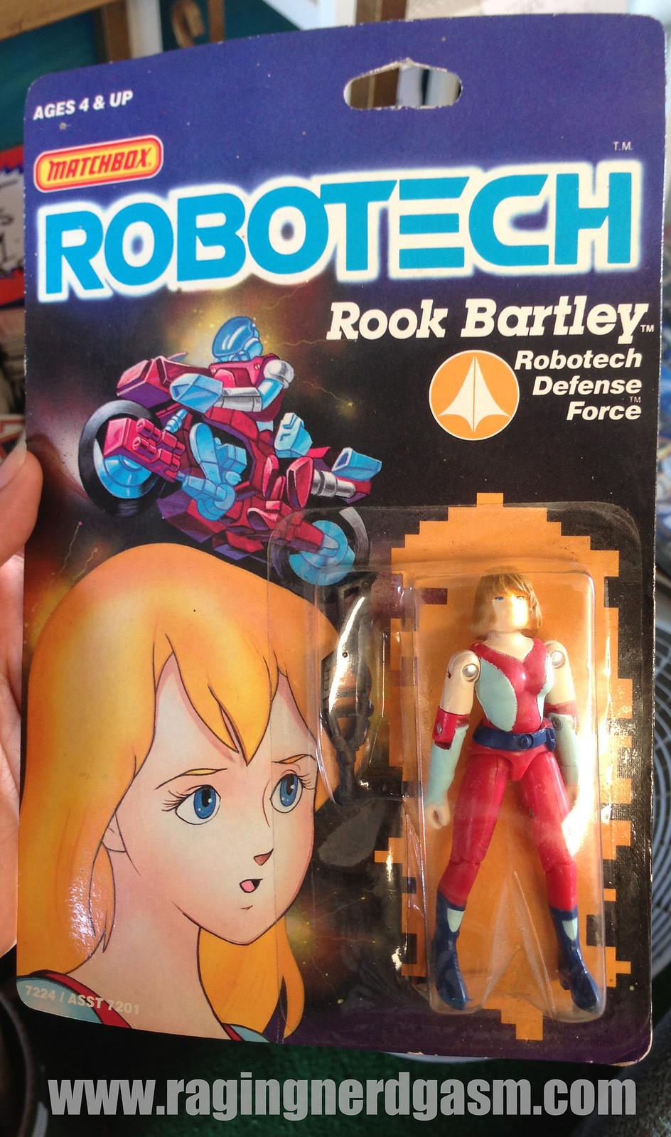Matchbox Robotech Rook Bartley